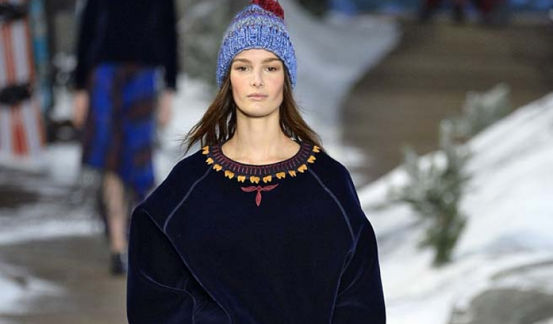 Tommy HilfigerWomenswear Fall Winter 2014 New York Fashion Week February 2014
