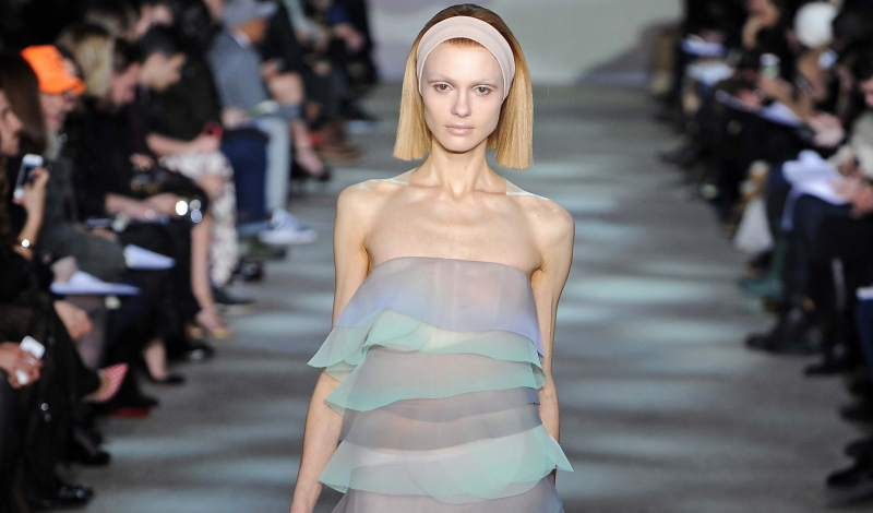 Designer:  Marc JacobsNew York Fashion Week, Fall 2014- February 2014