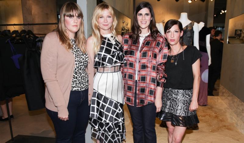 Kate Mulleavy, Kirsten Dunst, Laura Mulleavy, Nevena Borissova - Rodarte