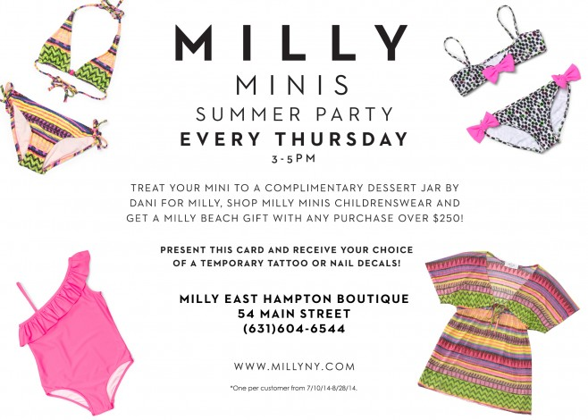 Milly Minis Summer Party @ Buffalo | New York | United States