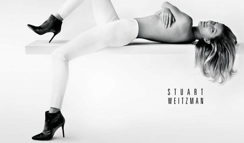 Stuart Weitzman Fall 2014 Campaign Featuring Gisele Bündchen