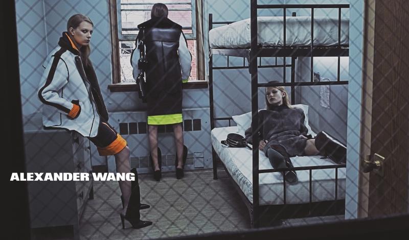 Alexander Wang Fall 14 Campaign