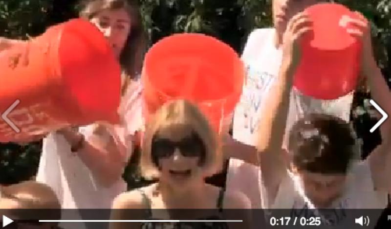 Anna Wintour ALS Ice Bucket Challenge