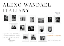 ITALIANY by ALEXO WANDAEL in collaboration with Peroni Nastro Azzurro @ New York | New York | United States