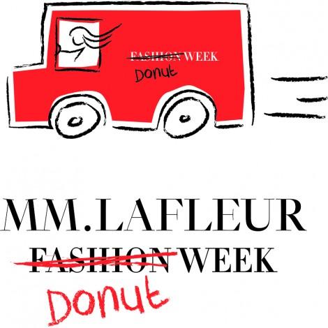 MM.LaFleur Fashion Donut Week @ Follow us on Twitter or Instagram @mmlafleur to find us each morning