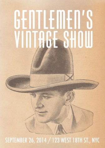 Gentlemen's Vintage Show Returns to NY @ New York | New York | United States