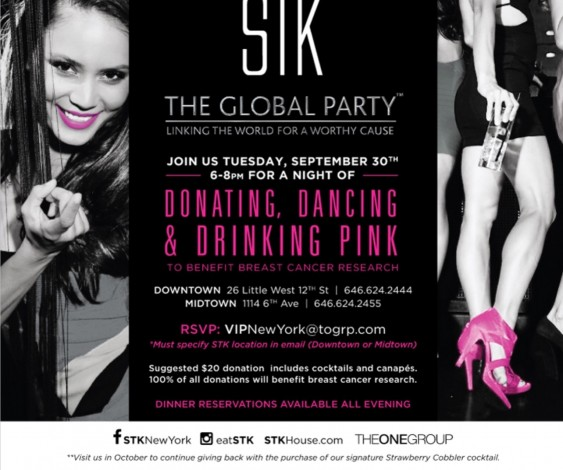The Global Party at STK Midtown @ New York | New York | United States