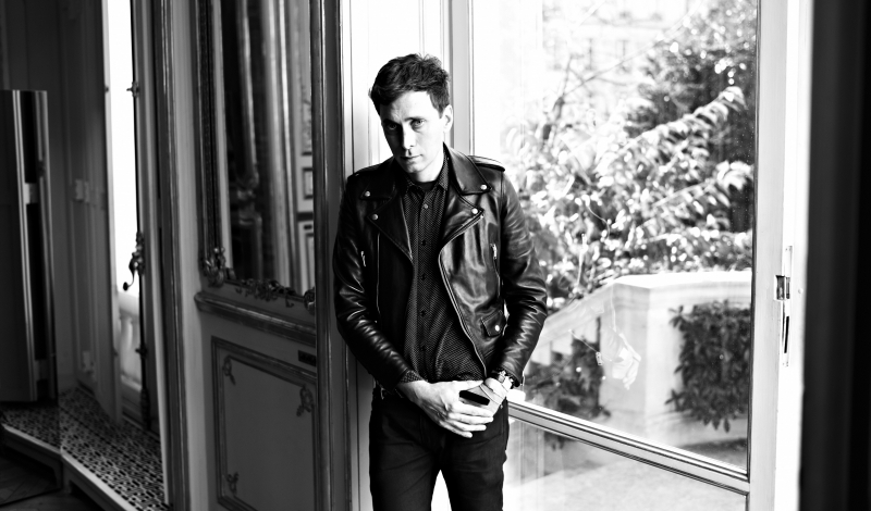 Yves Saint Laurent  Designer Hedi Slimane Portrait Session