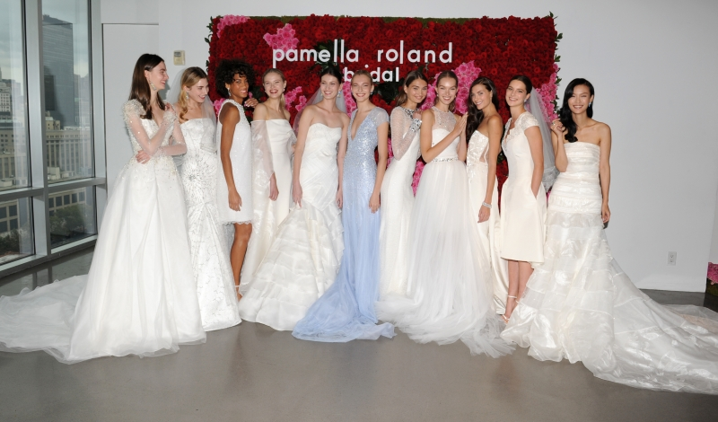 Pamella Roland Bridal Collection Presentation