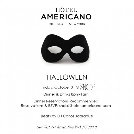 Hotel Americano Halloween @ SNOB @ Hotel Americano  | New York | New York | United States