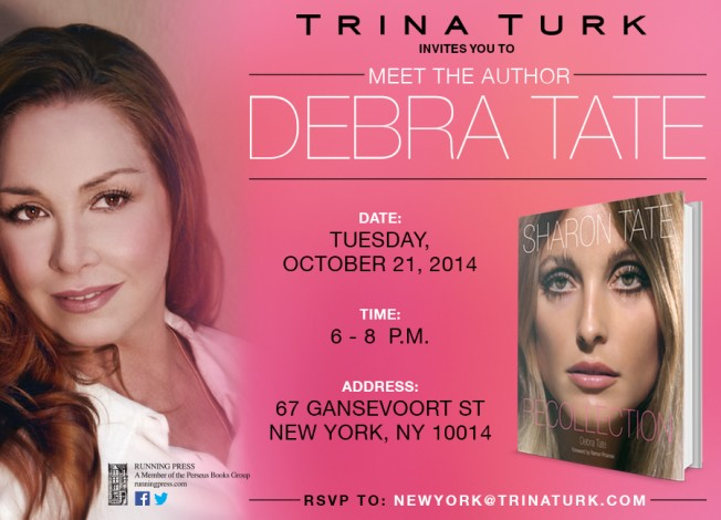 Trina Turk Invites You to Meet Author Debra Tate @ New York   New York   United States