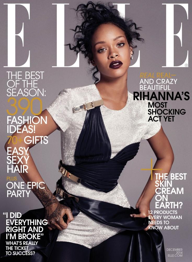 ELLE Dec 14 Cover Rihanna