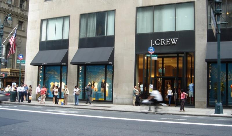 J Crew Storefront.0