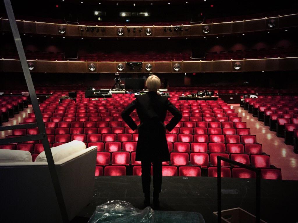 JoCo at Lincoln Center rehearsals