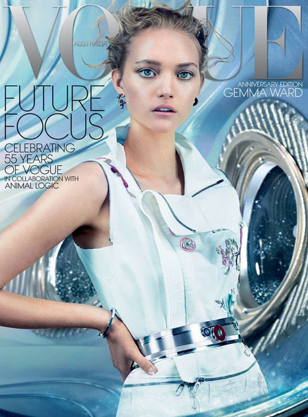 Gemma Ward's Comeback Continues With A Vogue Australia Cover