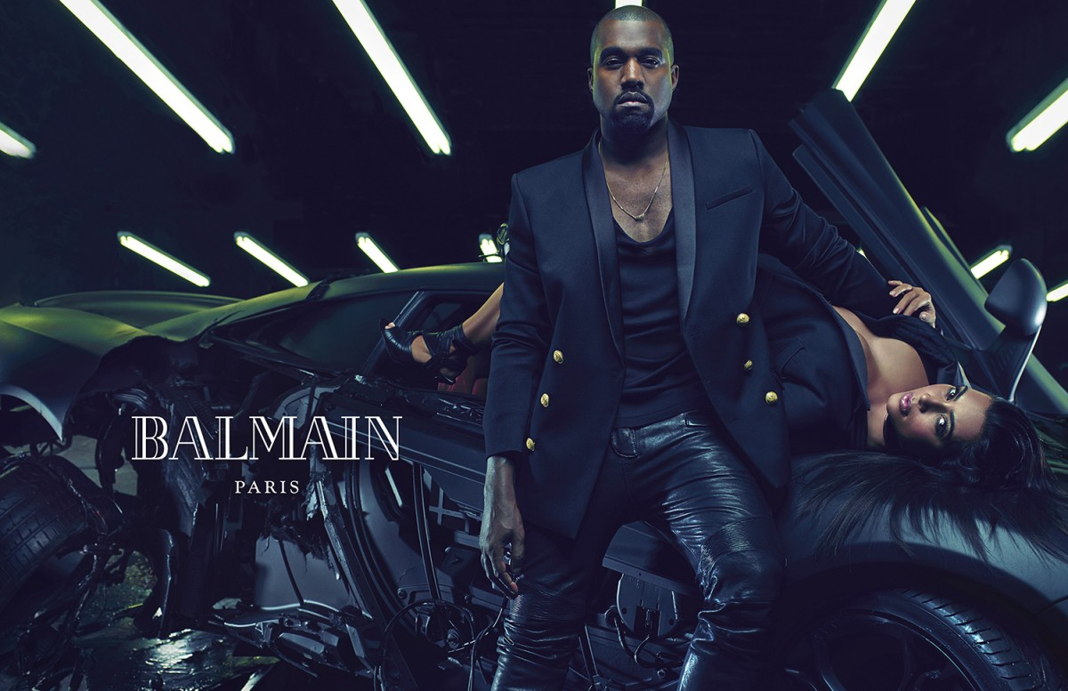 Balmain SS15 menswear ad campaign #1