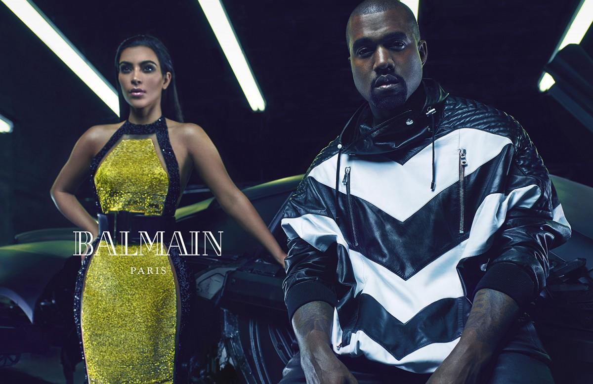 Balmain SS15 menswear ad campaign #2