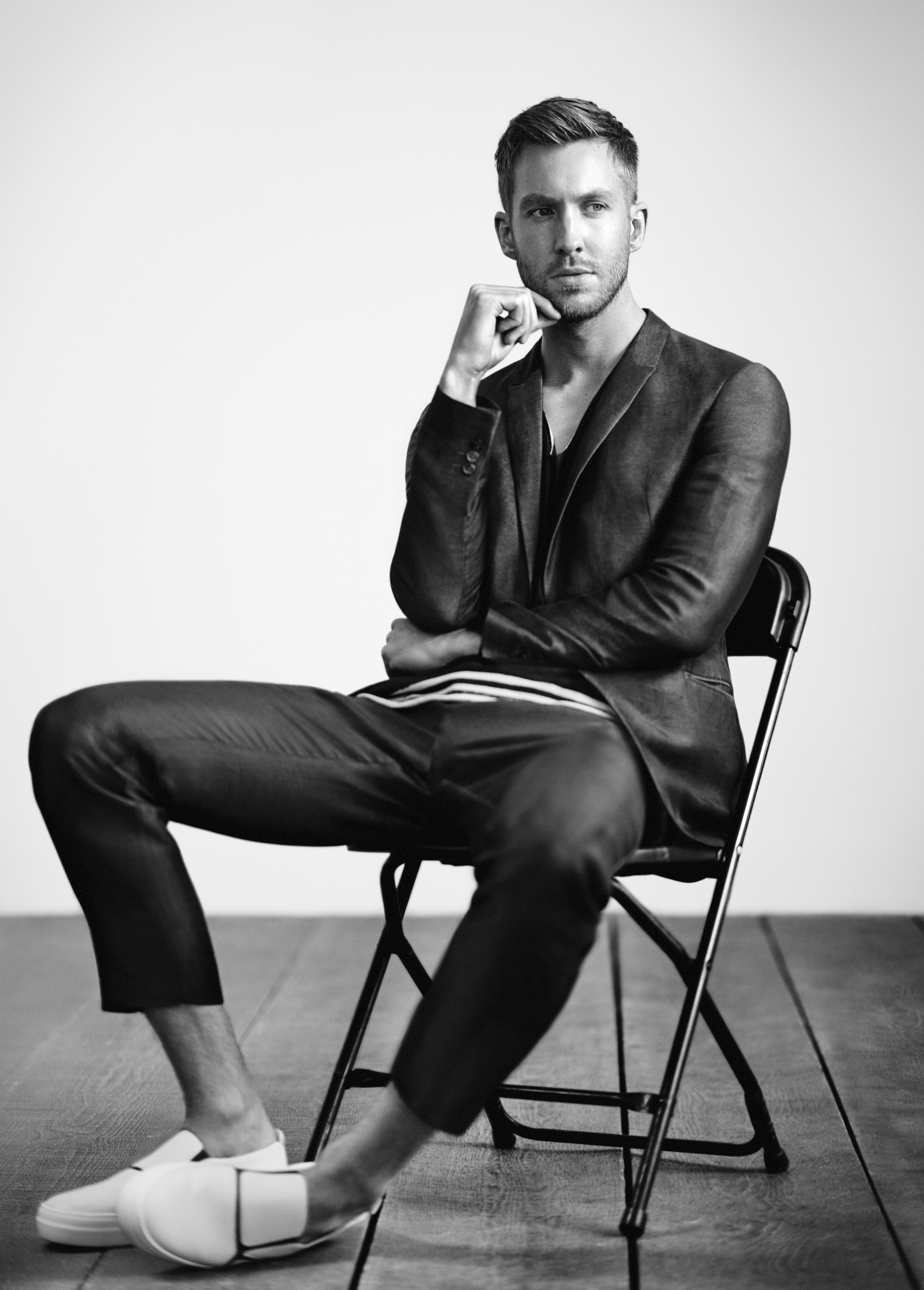 Emporio Armani Discovers That Calvin Harris Is A Total Babe