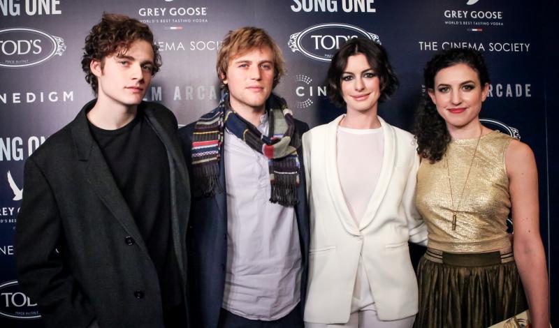 Ben Rosenfield, Johnny Flynn, Anne Hathaway,  Kate Barker-Froyland