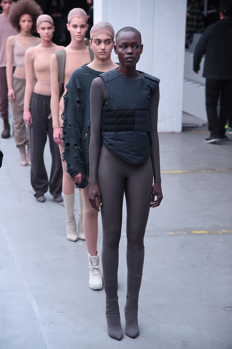adidas Originals x Kanye West YEEZY SEASON 1 - Runway ...