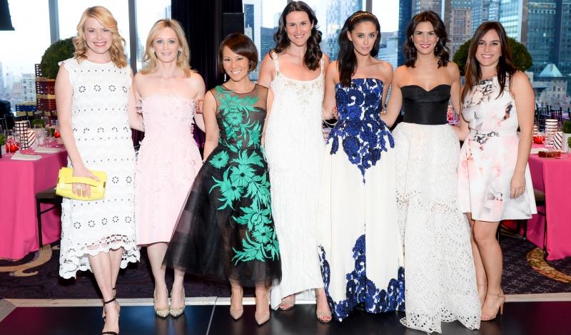 Amy McFarland, Clare McKeon, Alina Cho, Lydia Fenet, Erika Bearman, Elisabeth Jones-Hennessy, Nicole Esposito