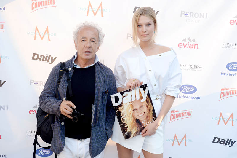 The Daily Celebrates Covergirl Toni Garrn and the Summer Premiere Issue Launch Party sponsored by Cointreau