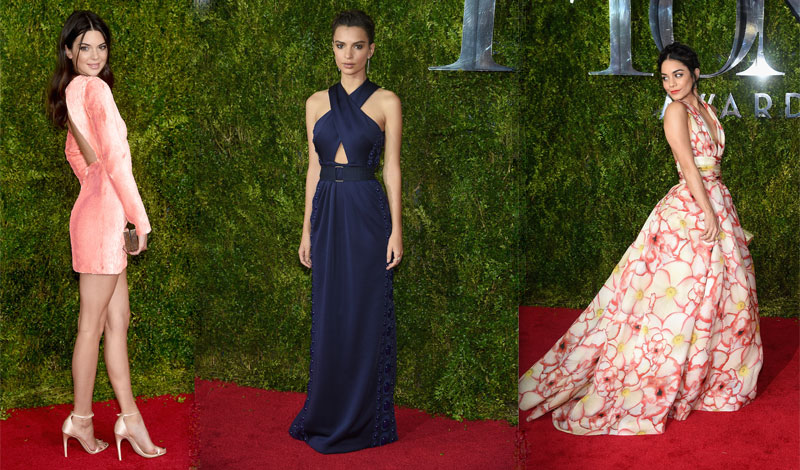 Kendall Jenner, Emily Ratajowski, Vanessa Hudgens
