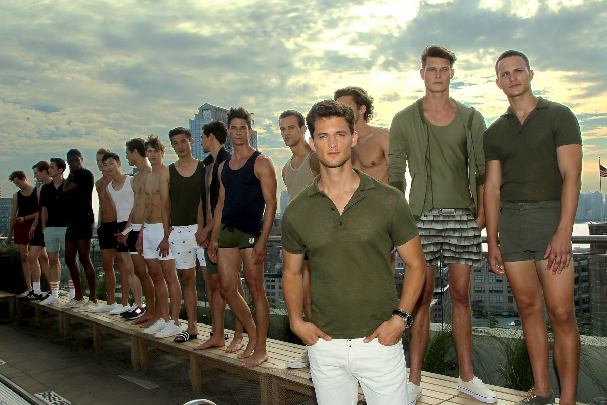 Garrett Neff Launches Swimwear Line KATAMA during Men's Fashion Week