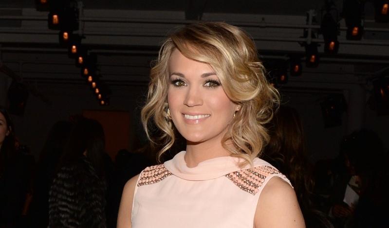 Carrie Underwood== Peter Som Fall 2014 Fashion Show== Milk Studios, NYC== February 7, 2014== ©Patrick McMullan== Photo - Clint Spaulding/PatrickMcMullan.com== ==
