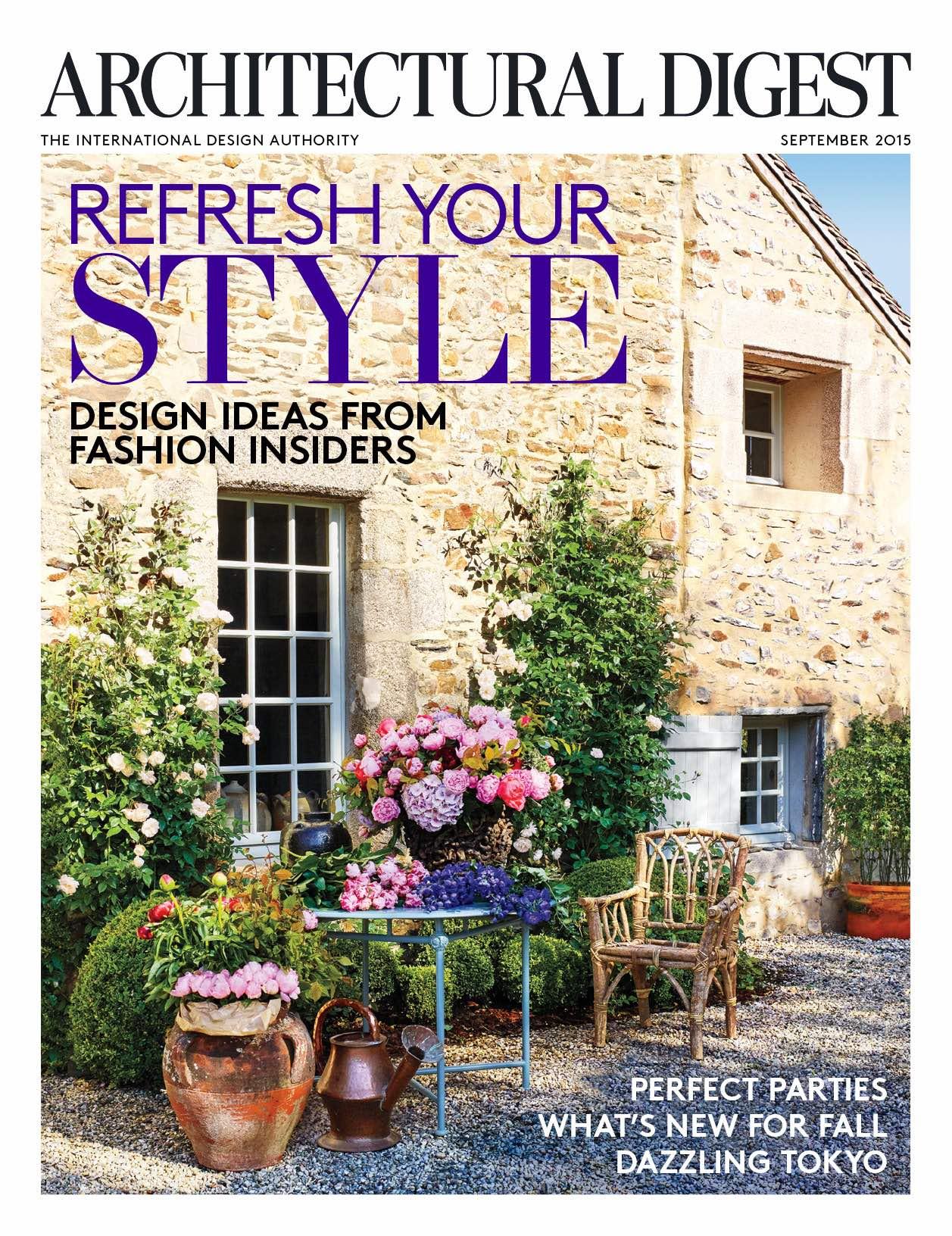 Architectural Digest: Architectural Digest Features Fashion Insiders' Dreamy