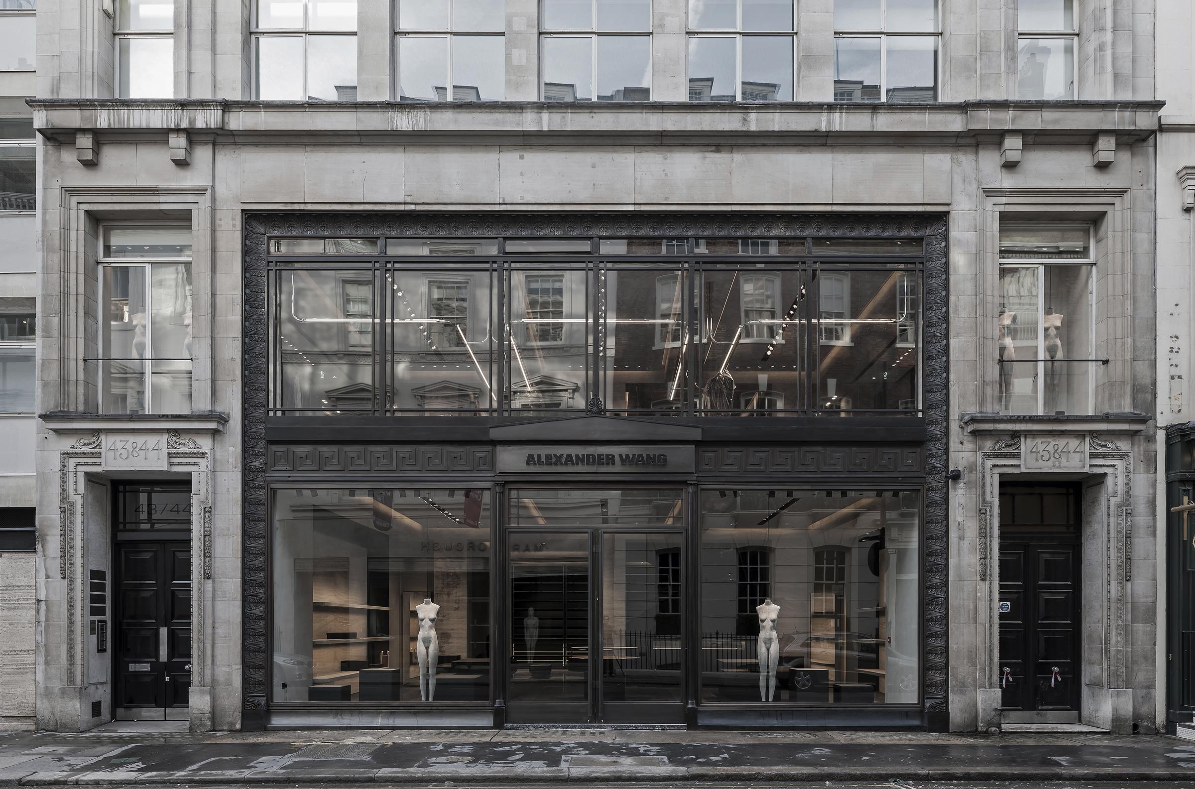 alexander wang opens first european flagship in london