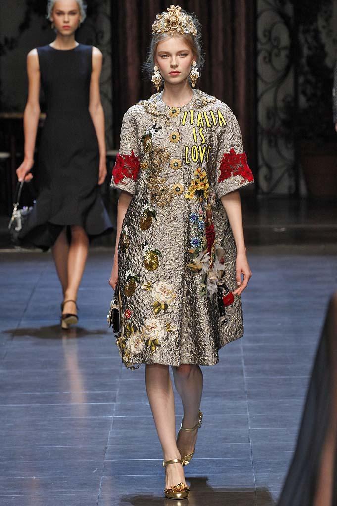 Dolce Gabbana Milan RTW Spring Summer 2016 September 2015