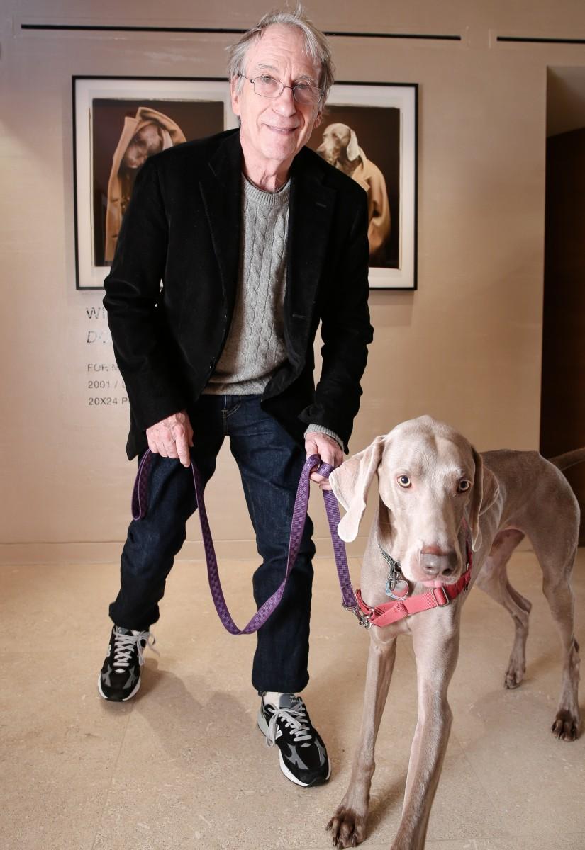 MAX MARA CELEBRATES: WILLIAM WEGMAN'S  'DOGS IN COATS'