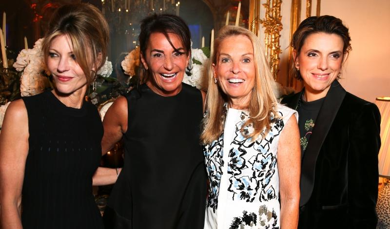 Françoise-Marie Santucci, Ambassador Jane Hartley, Constance Benqué, Robbie Myers