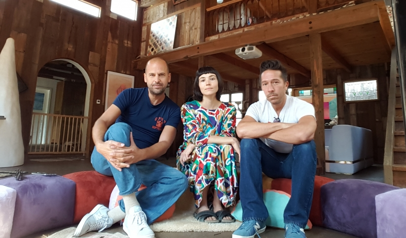 CLAUDE, CARLY JO & BRIAN