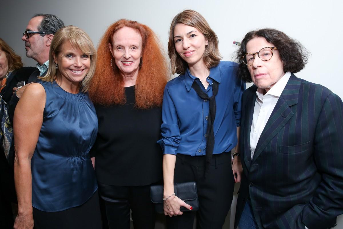 Louis Licari Salon Opening: Sophia Coppola and Grace Coddington