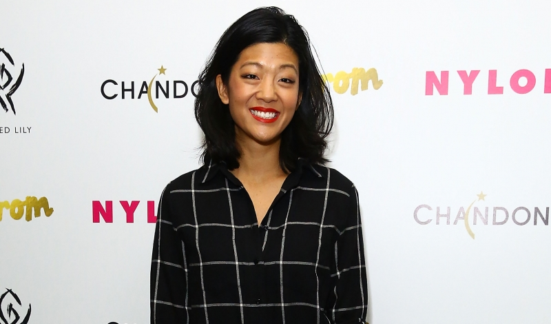 NEW YORK, NY - OCTOBER 06:  Editor in Chief at Nylon Magazine, Michelle Lee attends NYLON Magazine's IT Girl Party at Gilded Lily on October 6, 2014 in New York City.  (Photo by Astrid Stawiarz/Getty Images for NYLON)