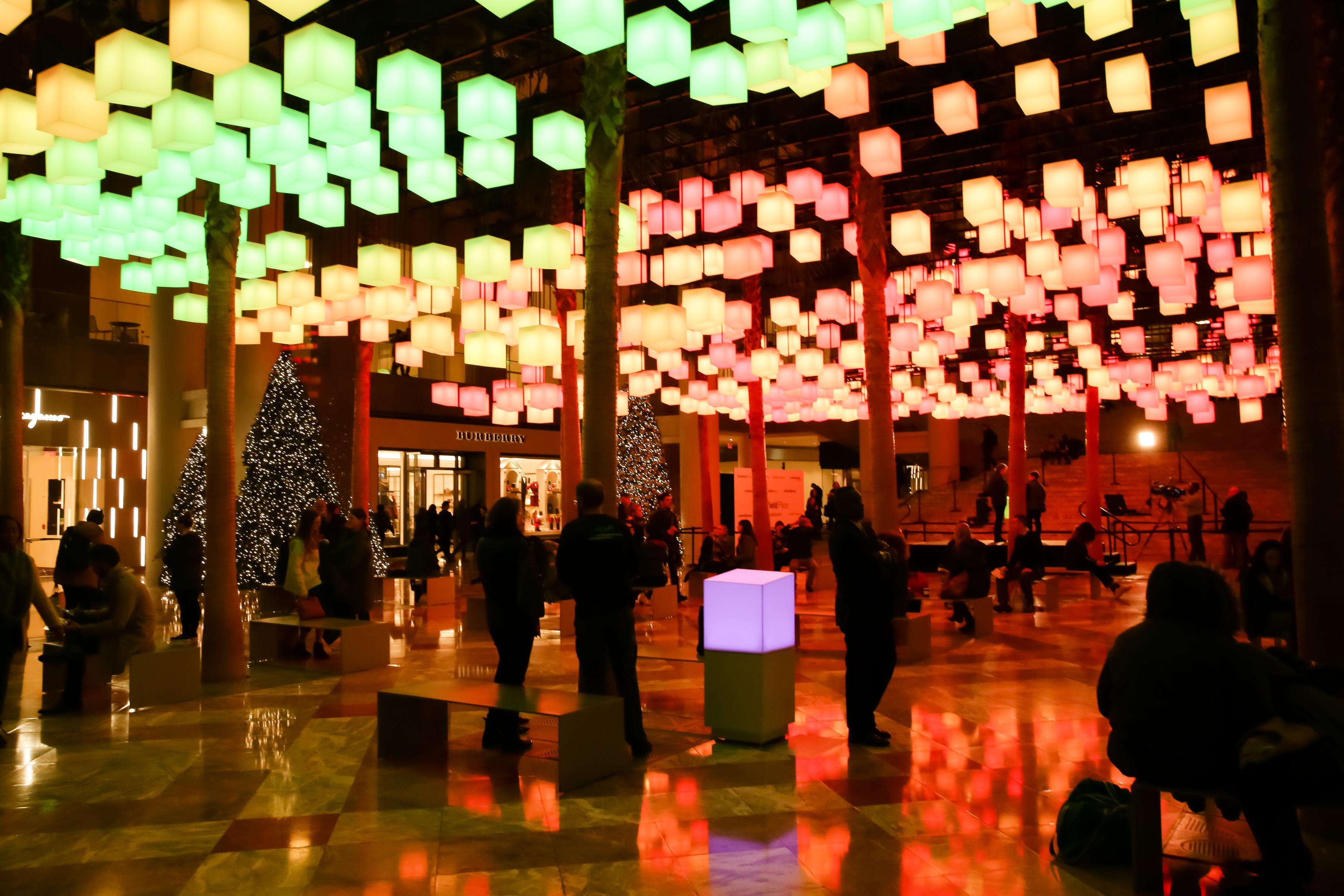 Brookfield Place Unveils Winter Garden Light Spectacular