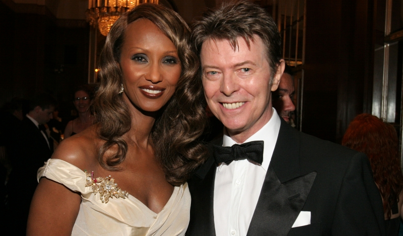Iman, David Bowie== The Elie Wiesel Foundation for Humanity Award Dinner Honoring Oprah Winfrey== The Waldorf-Astoria, NYC== May 20, 2007== ©Patrick McMullan== Photo - Will Ragozzino/PMc== ==
