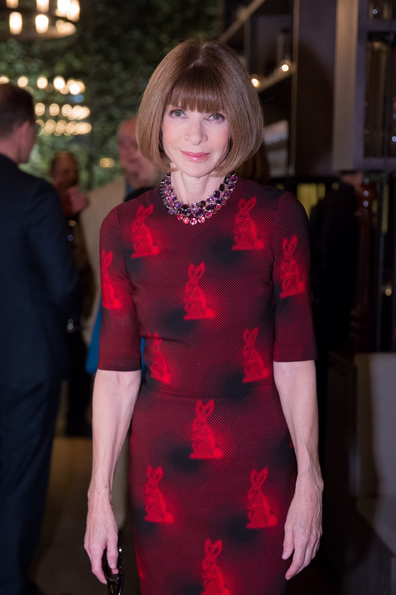 PIERRE-YVES ROUSSEL & ANNA WINTOUR HOST: DONNA KARAN'S MY JOURNEY BOOK RELEASE PARTY