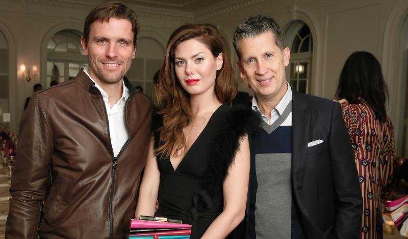 James Ferragamo, Sara Battaglia, Stefano Tonchi