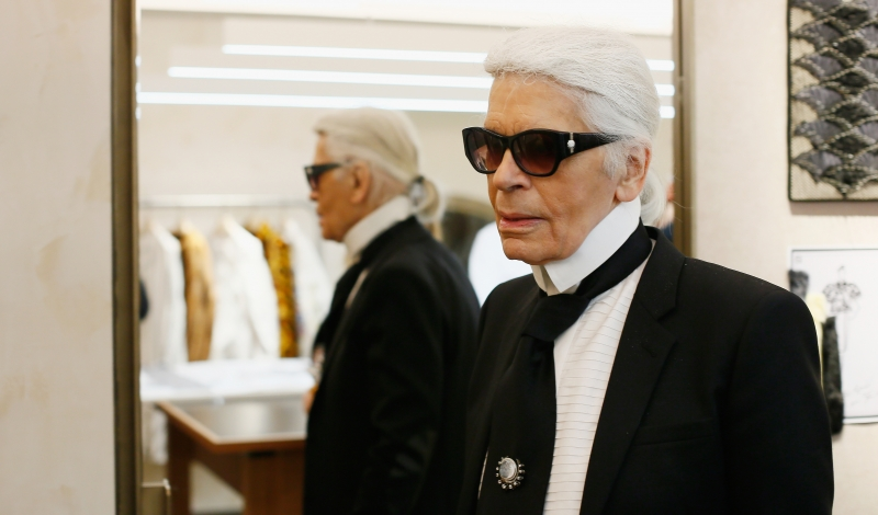 ROME, ITALY - MARCH 10:  Karl Lagerfeld attends Palazzo FENDI And ZUMA Inauguration on March 10, 2016 in Rome, Italy.  (Photo by Ernesto Ruscio/Getty Images for FENDI)