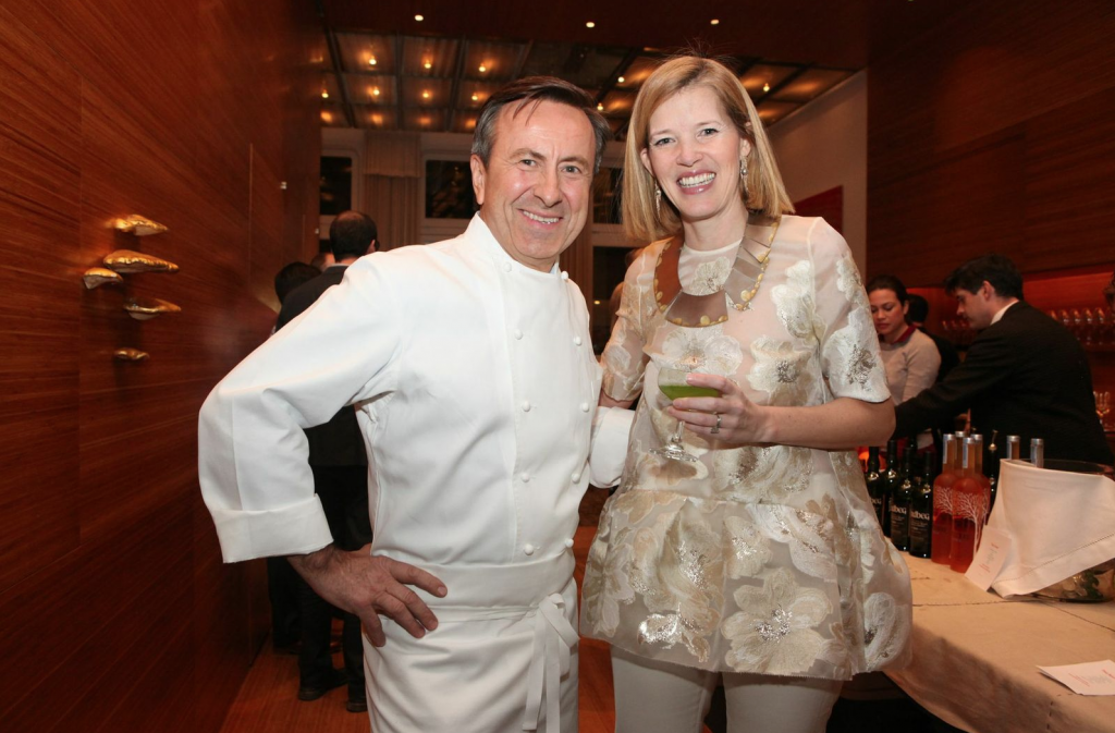 Daniel Boulud and Lela Rose