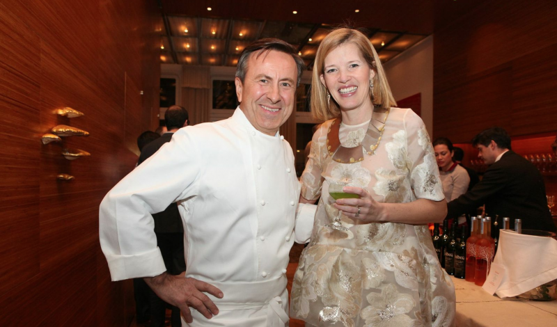 aniel Boulud and Lela Rose