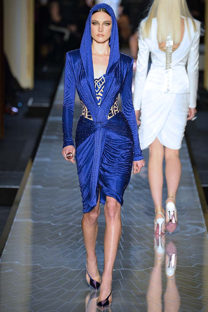 Versace Haute Couture Spring Summer 2014 Paris January 2014