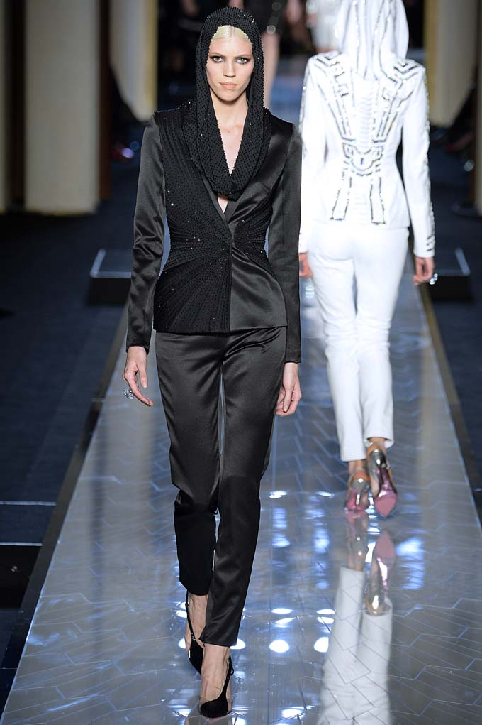 Versace Haute Couture Spring Summer 2014 Paris January 2014