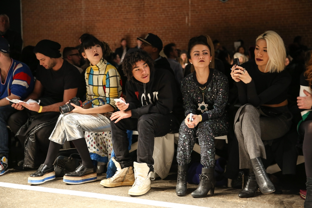 VFiles – Front Row – Mercedes-Benz Fashion Week Fall 2014