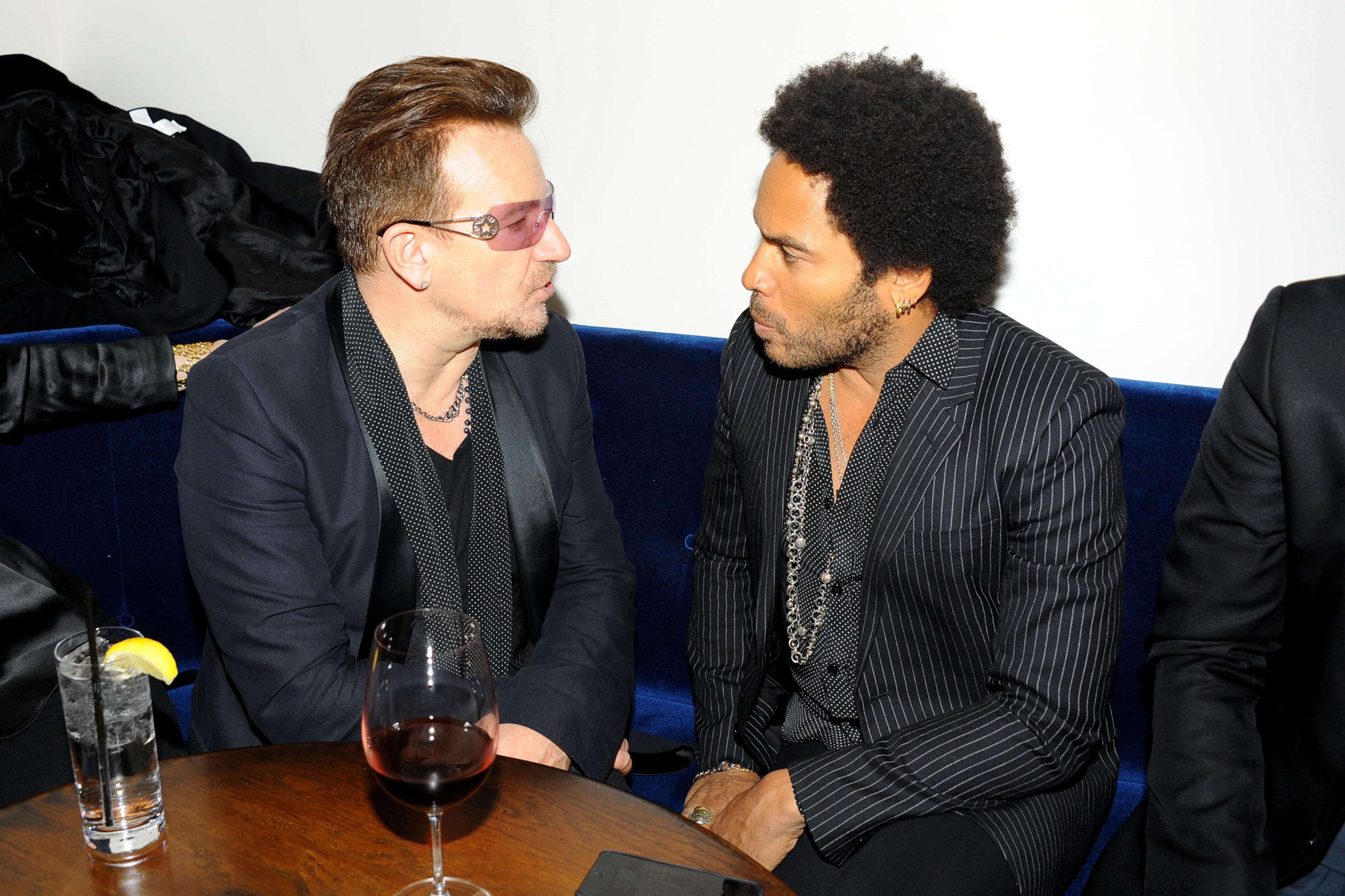 U2, Idris Elba, Naomi Harris, Bob & Harvey Weinstein & Anna Wintour with Burberry host a screening of MANDELA: LONG WALK TO FREEDOM After Part