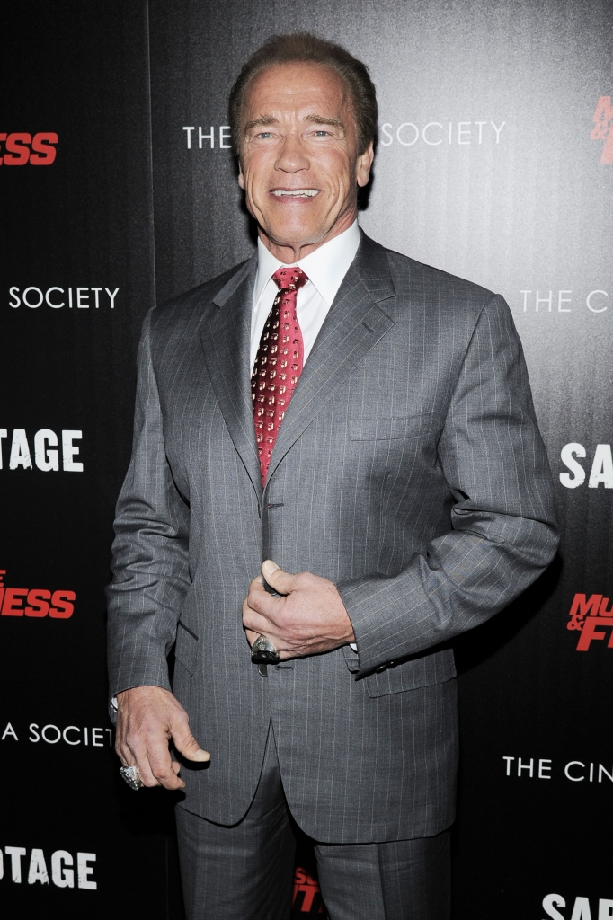 """The Cinema Society with Muscle & Fitness host a screening of Open Road Films' """"Sabotage"""""""
