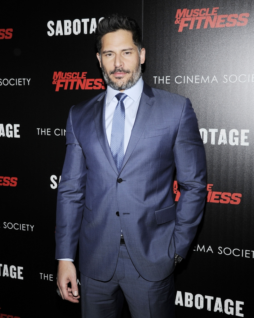 "The Cinema Society with Muscle & Fitness host a screening of Open Road Films' ""Sabotage"""